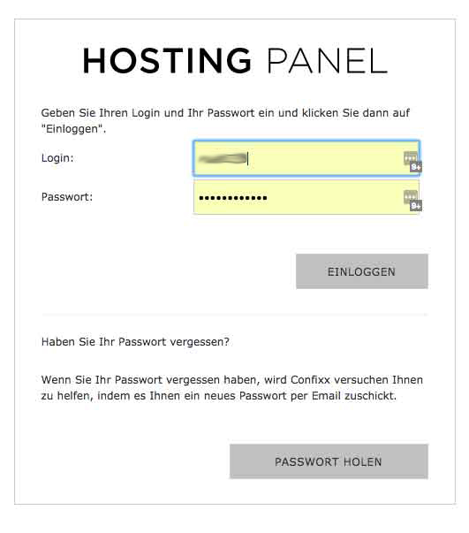 hostingpanel